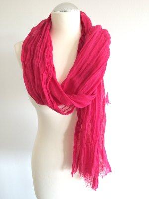 Pinker Leinen-Schal Tuch von ESPRIT