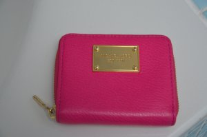 Michael Kors Wallet raspberry-red leather