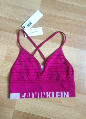 Pinker neuer Calvin Klein Sport Bustiert S