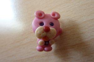 Pinker Panter als Antecknadel