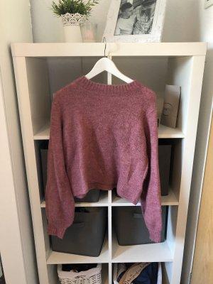 Clockhouse Jersey de lana rosa