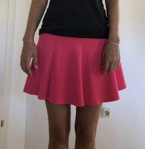 Bershka Gonna da skater magenta-rosa Poliestere