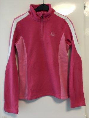 Pinker Skipullover | Fleecepullover