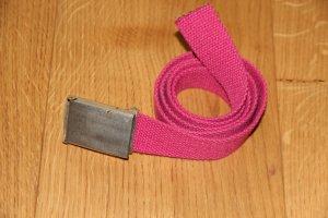 Pinker Stoffgürtel von H&M