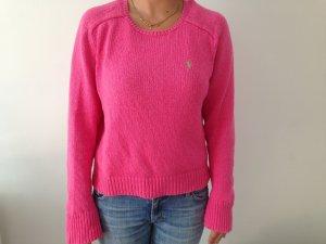 Pinker Strickpullover aus Baumwolle von Polo Ralph Lauren