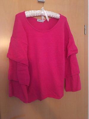 Tricia Jones Wool Sweater pink-magenta