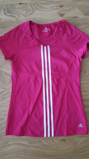 Pinkes Adidas Sport-t-shirt clima cool Größe 40