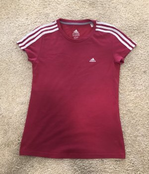 Adidas T-Shirt raspberry-red