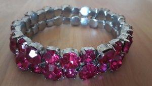 Pinkes Armband
