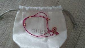 Pinkes Armband von Guess