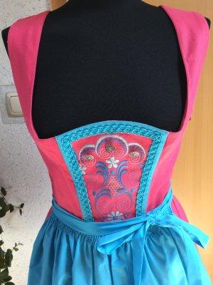 Pinkes besticktes Vintage Dirndl 36/38