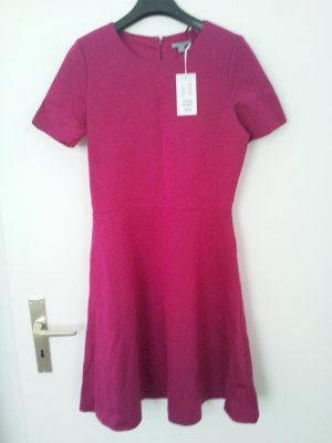 COS Sweat Dress magenta lyocell
