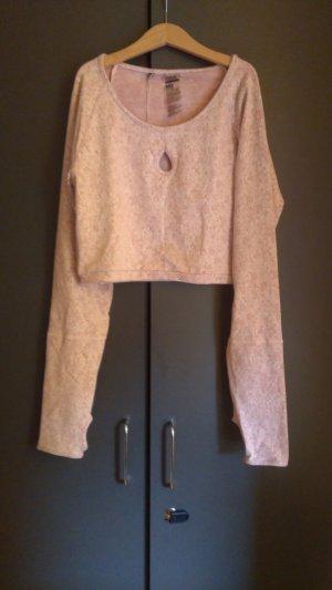 Pinkes Crop Shirt Gymshark L