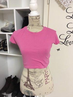 Zara T-shirt court rose