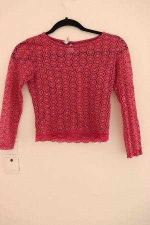Pinkes Cropped Top