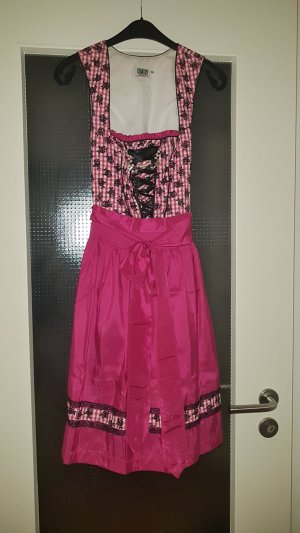 Pinkes Dirndl Country Line S