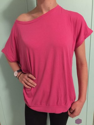 Pinkes Fledermaus Shirt, Gr. M