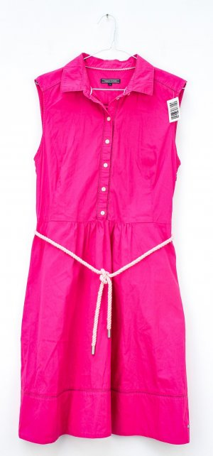 Tommy Hilfiger Polo Dress pink cotton