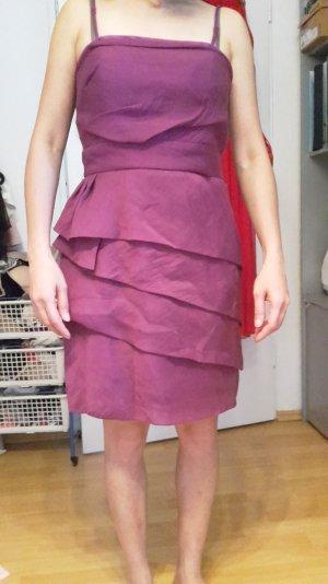 pinkes gestuftes Abendkleid ESPRIT