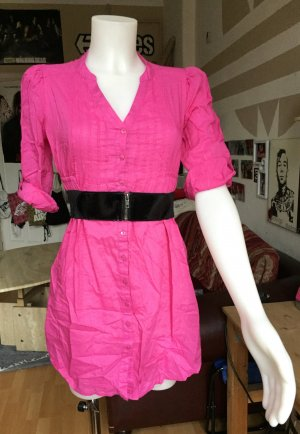 Pinkes H&M Blusenkleid S/M