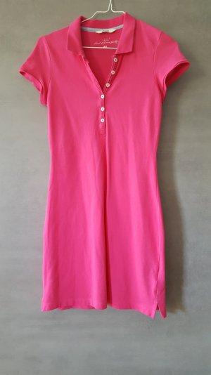 H&M Robe Polo rose coton