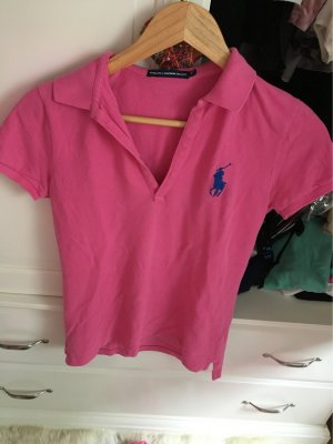 Ralph Lauren Short Sleeve Shirt neon pink