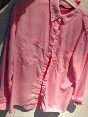 Pinkes Hemd von Zara