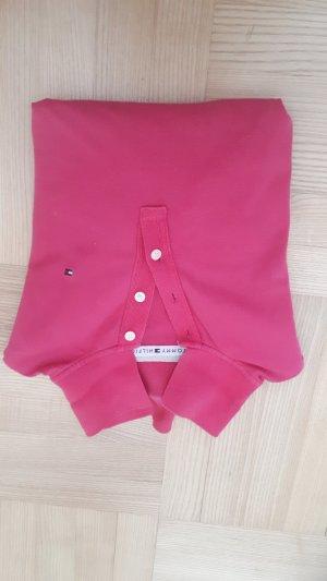 Tommy Hilfiger Polo Shirt pink-magenta