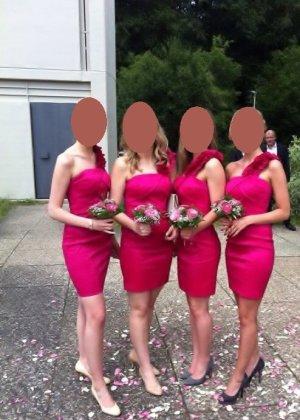 Pinkes Kleid in S (super für Hochzeitsfeiern ;))