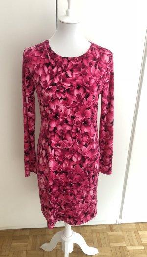 Pinkes Kleid mit Blumenmuster von Michael Kors