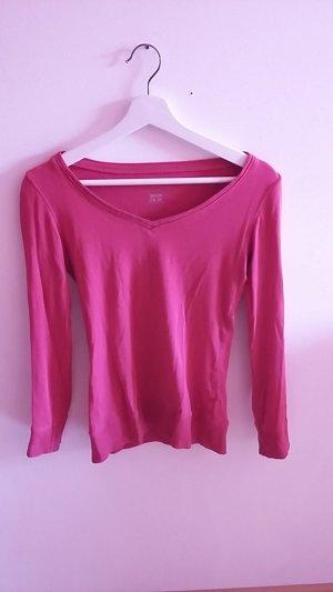 Pinkes Langarm Shirt
