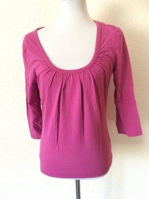 pinkes Langarmshirt / Shirt / Rundhalsshirt von Madonna - Gr. L