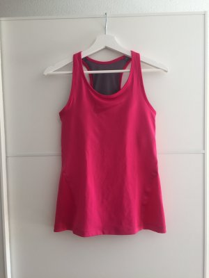 Nike Canotta sportiva rosa-rosso lampone