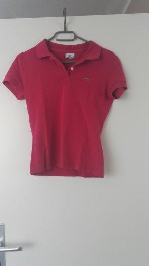 Pinkes Polo Shirt von Lacoste