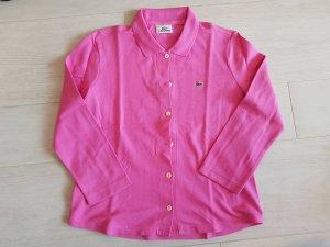 Pinkes Polo-Shirt von Lacoste in Größe 38, neuwertig
