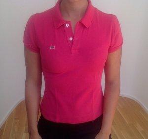 Pinkes Poloshirt von Lacoste, Größe 38
