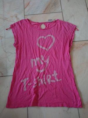 Pinkes Printshirt