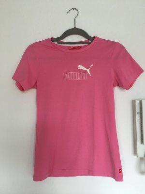 Pinkes Puma Sport-Shirt