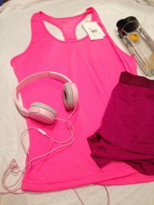 Pinkes Reebok Sportshirt