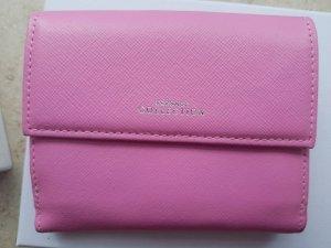 Pinkes Rosa Portmonnaie Geldbörse Versace
