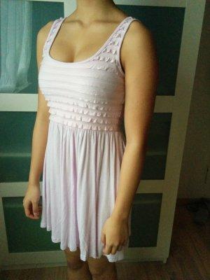 Pinkes rosé süßes kurzes Sommerkleid