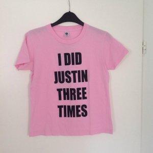 Pinkes Shirt Justin...