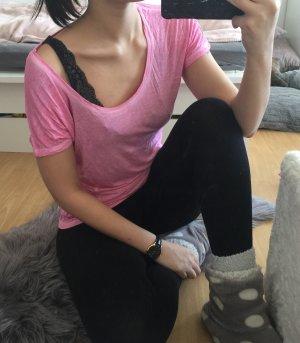 Pinkes Shirt pull&bear