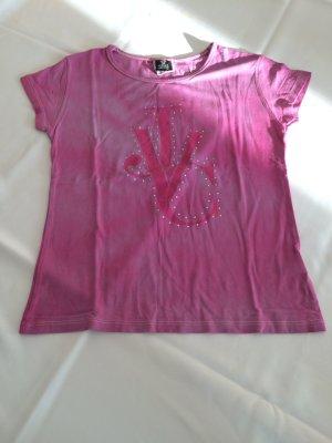 Pinkes Shirt top mit steinchen