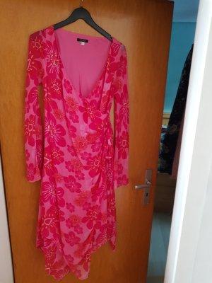 Apart Vestido de lentejuelas rosa