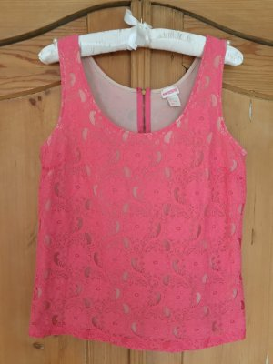 H&M Conscious Collection Lace Top pink