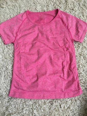 Camisa deportiva rosa-rosa neón