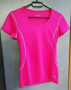 Sportshirt roze-neonroos