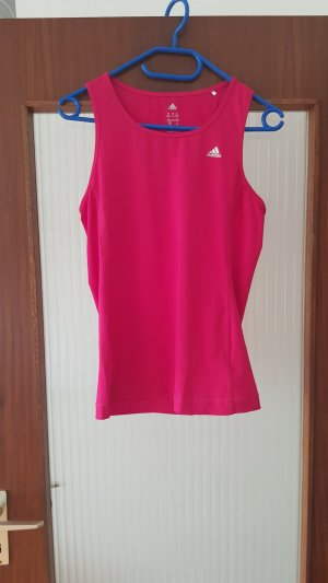 pinkes Sporttop von Adidas
