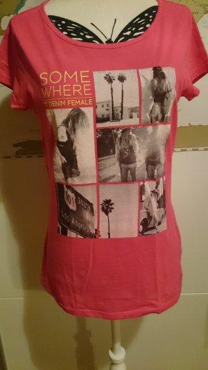 pinkes T Shirt Gr. S